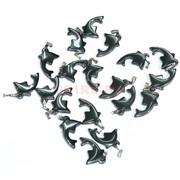 Подвеска для брелка «Дельфин» из гематита