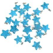 Подвеска для брелка «Звезда» из бирюзы