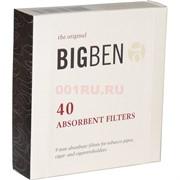 Фильтр трубочный 9 мм Big Ben 40 шт