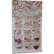 Ногти накладные (B004) французкий маникюр цвета ассортимент