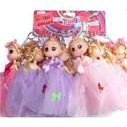 Брелок «Куколка Принцесса в платье» 60 шт/уп (KL-1301)