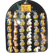 Магнит из полистоуна (MR-02) «Крыса с монетами» символ 2020 года 960 шт/кор