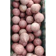 Шарик из розового родонита 30 мм