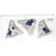 Фарфоровая статуэтка (KL-808) балерина набор из 3 шт