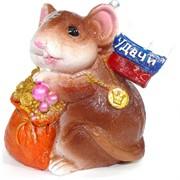 Копилка из полистоуна (KL-1572) крыса символ 2020 года