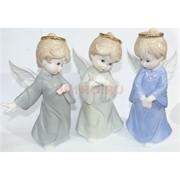 Фарфоровая статуэтка (KL-481) ангелочек 17 см
