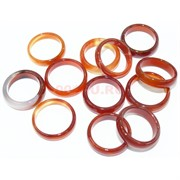 Кольцо из сердолика 25 мм