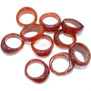 Кольцо из сердолика 23 мм