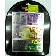 Магнит (48) виниловый купюры евро