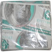 Прикол «Салфетки 100 долларов» 10 шт