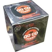 Уголь для кальяна QOCO Turbo 25 мм 27 кубиков