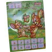 Календарь Символ года Мышь 2020 «мультперсонаж Джерри» 50 шт/уп