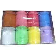 Пластилин глина в баночках 12 шт/уп