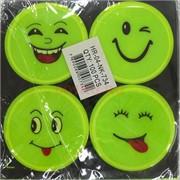 Светоотражающие наклейки (NK-734) детские 4 шт/уп