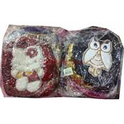 Рюкзак детский с пайетками (SM-648) «Сова и другие животные» 12 шт/уп