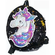 Рюкзак детский с пайетками (SM-495) «Единорог»