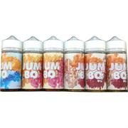 Жидкость Jumbo 120 мл 0 мг крепость вкусы в ассортименте