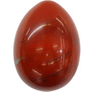 Яйцо из натуральной красной яшмы 5,2x3,5 см