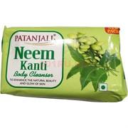 Мыло Патанджали 150 грамм с экстрактом нима Neem Kanti