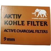 Фильтры угольные 40 шт Aktiv Kohle Filter 9 мм
