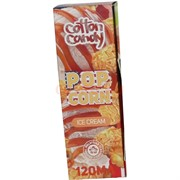 Жидкость для испарителей Cotton Candy 120 мл серия Pop Corn 0 мг