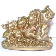 Фигурка из гипса «4 Слона»