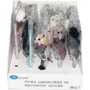 Ручка шариковая Basir (MC-4909) с крысами-мышками 20 шт/уп