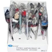 Ручка шариковая Basir (MC-4910) с крысами-мышками 20 шт/уп