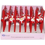Ручка шариковая Basir (MC-4875) Дед Мороз 40 шт/уп