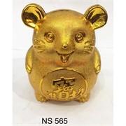 Копилка Мышка под золото (NS-565)