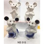 2 Крысы из фарфора (NS-515) символ 2020 года 2 цвета