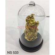 Фигурка Крыса с подсветкой (NS-533) в стекле