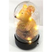 Фигурка Крыса с подсветкой (NS-543) в стекле