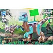 Конструктор Динозавр (403) со звуком и подсветкой