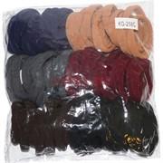 Резинка для волос (KG-258C) бархатная цветная 96 шт