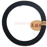 Резинка для волос черная толстая 100 шт/уп