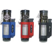 Горелка-зажигалка LiFeng Lighter тройное турбо