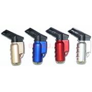 Горелка-зажигалка пластмассовая цветная 12 шт/уп