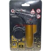 Горелка-зажигалка пластмассовая в блистере с подставкой