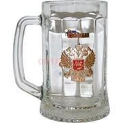 """Бокал пивной """"Золотой герб"""""""