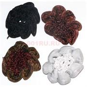 Резинка для волос с сеткой, цена за шт 20 шт\уп (BS-318)