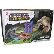 Dinosaur Tracks 175 деталей трасса с машинкой