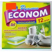 Таблетки для посудомоечных машин 12 шт «Русалочка» Econom