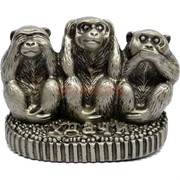 3 обезьяны фигурка «не вижу, не слышу, не скажу»