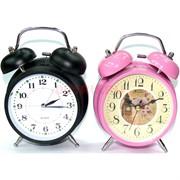 Часы механические круглые большие (цвета в ассортименте)