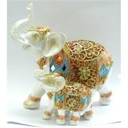 Слоны из полистоуна (KL-515) высота 20 см