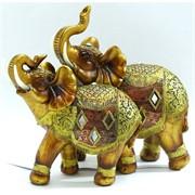Слоны из полистоуна (KL-511) высота 21 см