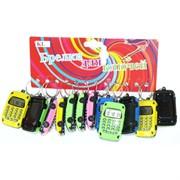 Брелок «Калькулятор с часами» KL-1781 цветной 50 шт/блок