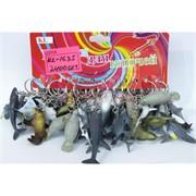 Брелок морская фауна (KL-1635) животные и акулы 120 шт/уп