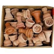 Чашки для кальяна глиняные (Сирия) в ассортименте